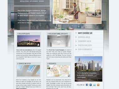 Wordpress Custom Theme / Web Page Design