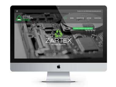 Parque Industrial Verde / Website Design and Development