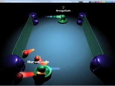 Pong 8001 (Cloud Multiplayer Game in Unity Mobile & Desktop)