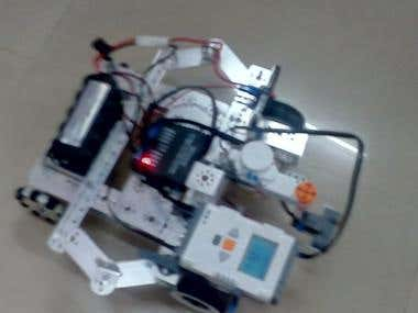Building a mapping robot using Lego mindstrom nxt and tetrix