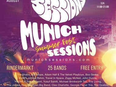 The Munich Session A3 Poster