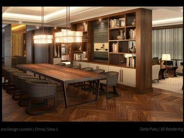 Interior Rendering Year 2011