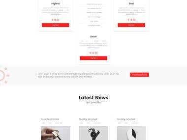 Myra - Multipurpose Minimal Landing Page
