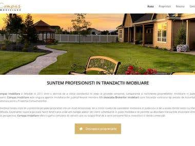 Website for real estate - Compas