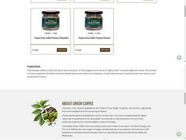 Website Frijoles India