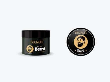 Beard Balm Design For Trichup