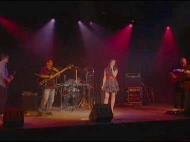 Live concert footage