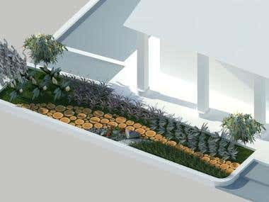 Jardin diseño / backyard design