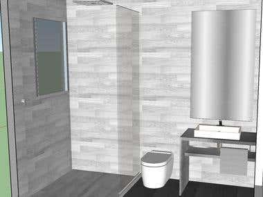 House interior renders
