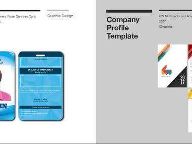 Company ID, Company Profile Template