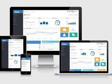 Shalik Responsive Bootstrap 4 Admin Template