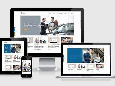 Automotive Retail Website Development