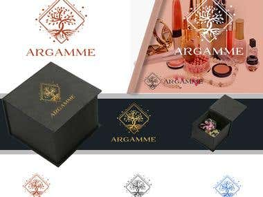 Design a new Cosmetics Product line Logo - Argamme