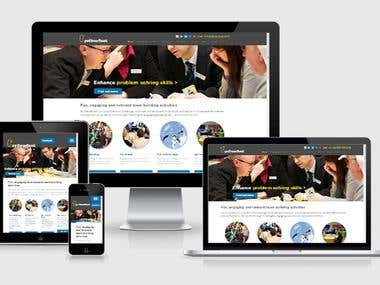 Event and Social Management Website Development