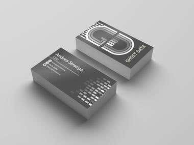 Design of business card for the CEO of the company