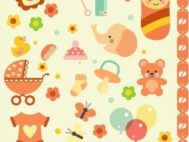 Baby Shower Clipart-3