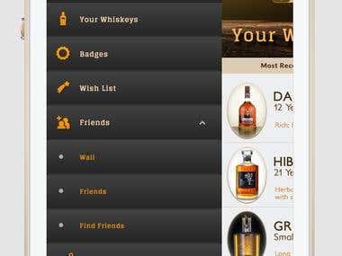 Whiskey Buying Guide Drawer Menu