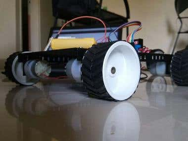 Building Bluetooth controlled offroad RC car