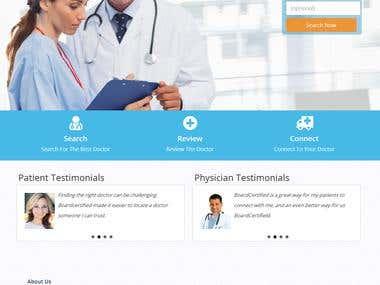 Board Certified Website