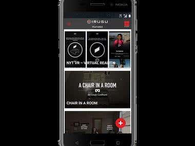 Irusu Mobile App