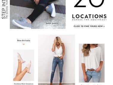 Shop Dressup Website