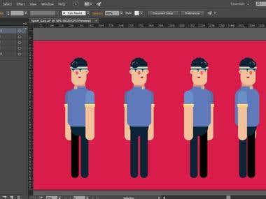 Animated GIF Push-up