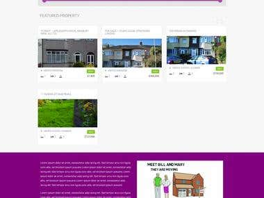 Real Estate Site in Wordpress