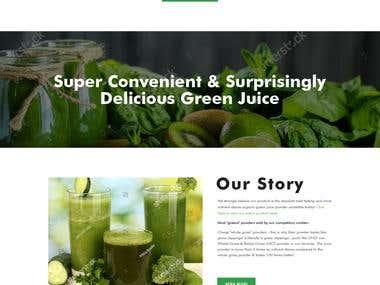 Shopify Store design (website design)