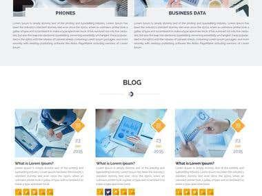 Joomla Based IT service website