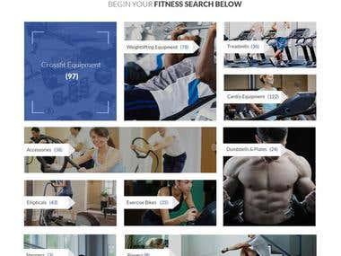 Fitness Industry Website