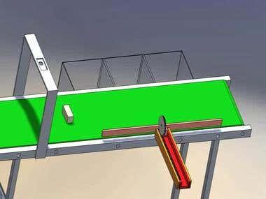 Conveyor Belt Design (SolidWorks)