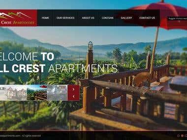 Hill Crest Apartment Website
