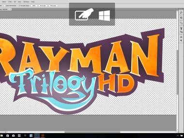 Rayman Trilogy Logo