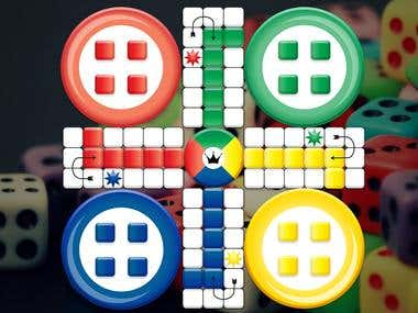 2D Ludo Game Design