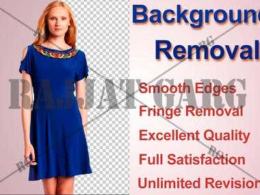 Background Removal - Photoshop