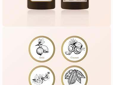 Branding Project: Asna Oil (Hair Care Product)