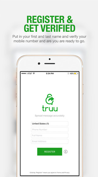 Truu Mobile Application