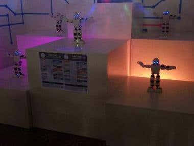 Programming robots ALPHA 1P