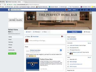 Perfect Home Bars – US based ecommerce site for home bars an
