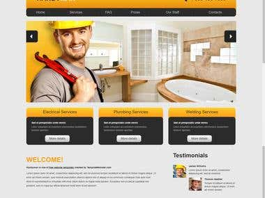 HandyMan Service Website