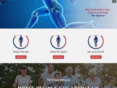painfree postural therapy Wordpress Project