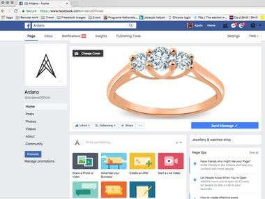 Ardano.us - US based ecommerce site for high-end jewelry
