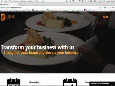 Dine in the City – software company for hospitality industry