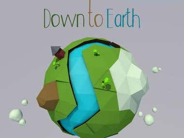 Down to Earth - Low Poly Art