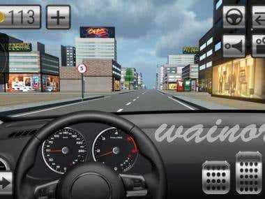 Driving Car Game