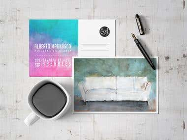Mockup Postcard