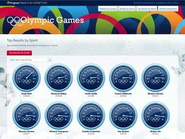 ASP.NET MVC Olympic Games