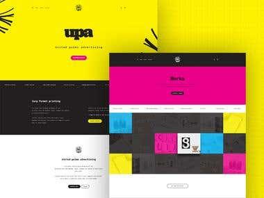 UPA Web design