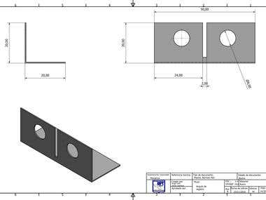 Design, plans and 3D modeling Lifting plans