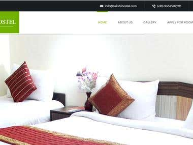 Sakshi Hostel - Hostel Management Website